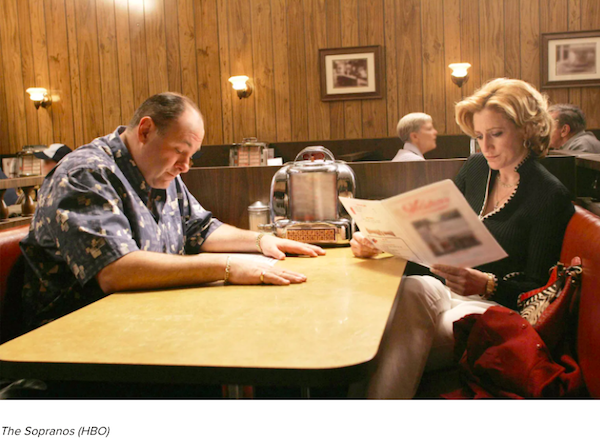 And the Oscar for biggest spoiler alert  goes to David Chase for the Sopranos